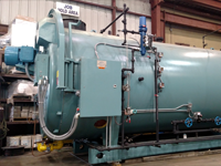 800 HP Cleaver Brooks Low Emissions High Pressure Steam Boiler